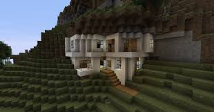 Modern Mountain House Estranged Modern House Minecraft Project Minecraft Houses