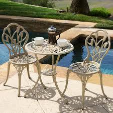 crossman piece outdoor bistro: great meadow decor royal crown aluminum bistro set outdoor bistro sets with outdoor bistro set
