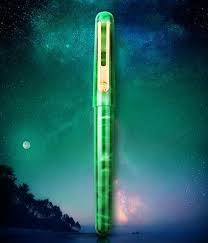 <b>pimio</b> 975 celluloid Dazzle colour The aurora set gift STUDENT Nib ...