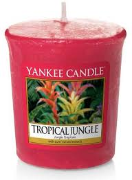 Yankee Candle Scented Votive Candle <b>Tropical Jungle</b> ...