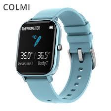 <b>COLMI P8 Pro Smart</b> Watch Temperature IP67 Waterproof Full ...