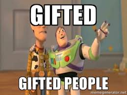 gifted gifted people - X, X Everywhere | Meme Generator via Relatably.com