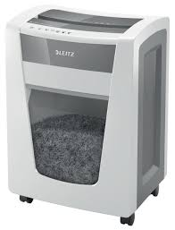 <b>Leitz IQ Office Pro</b> P6+ Super Micro Cut Paper Shredder White ...