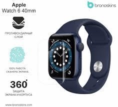 Apple Watch Series <b>6</b> 40 - <b>Защита экрана</b> и корпуса, Защитное ...