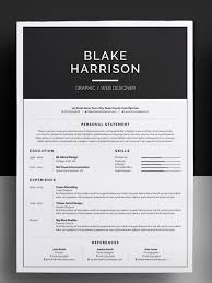 awesome resume templates •https   creativemarket com bilmaw
