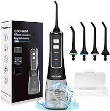 Water Flosser for Teeth, PECHAM Portable <b>Cordless Oral</b> Irrigator ...