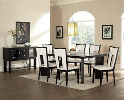 chunky dining table and chairs an elegant and practical dining room set