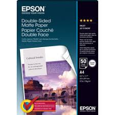 <b>Epson Double - Sided Matte</b> Paper 178GSM - Cavalier Art Supplies
