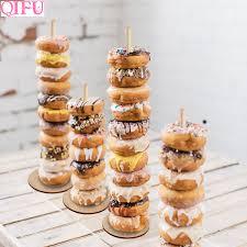 <b>QIFU 1pcs Donuts Stand</b> Donut Wall Display Holder Wedding ...