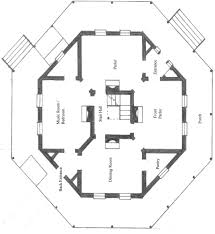 Alabama House Plans   VAlineOctagon Shaped House Floor Plan