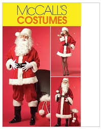 McCall's M5550 Women's and Men's Santa Claus <b>Christmas</b>