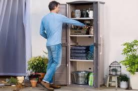<b>Шкаф Keter</b> Boston Tall Utility Shed серый 17200891 купить в ...