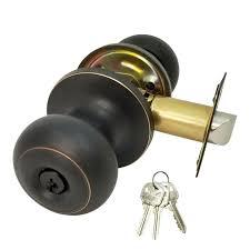 New <b>DeadBolt</b> Lock Entry Keyed Cylinder 3 Key <b>Exterior</b> Interior ...