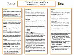 author date references system ready set cite chicago author date guidelines