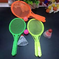 Developmental Baby Toys <b>1pair Child</b> Badminton Tennis Racket ...
