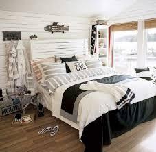 Retro Bedroom Decor Retro Styled Beach Themed Bedroom Decor With Vintage White Wooden