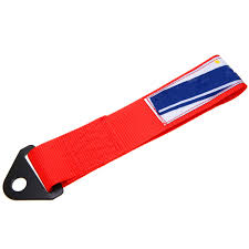 <b>MAYITR</b> Red High Strength Car Nylon Racing Tow Strap <b>Universal</b> ...