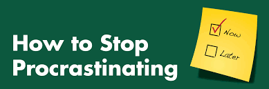 how to stop procrastinating student health and counseling services