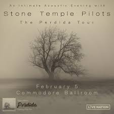 <b>Stone Temple Pilots</b> - CANCELLED — The Commodore Ballroom