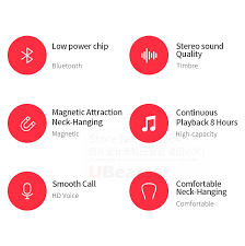 Ubeamer Q7 <b>Bluetooth 5.0 Earphone</b> 4D Sound Wireless <b>Headset</b> ...