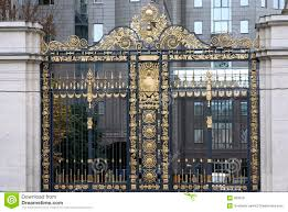 Beautiful goldem gates