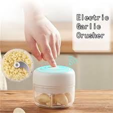 <b>Mini Electric</b> Grinder CrusherFood <b>Garlic</b> Vegetable Chopper ...