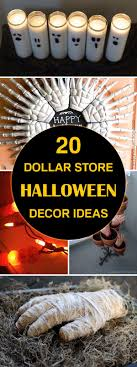 17 best ideas about halloween diy halloween easy diy halloween decor ideas using cheap supplies from the dollar store