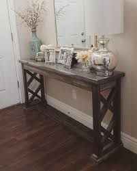 rustic farmhouse entryway table sofa table by modernrefinement cheap entryway furniture