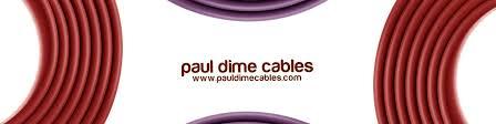 Инструментальные провода, <b>гитарные</b> провода   Paul Dime Cables