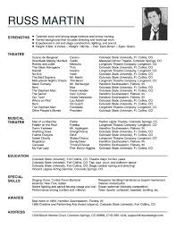 pin acting resume template on pinterest actors resume template word
