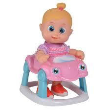 Кукла Бони 16 см с машиной <b>Bouncin</b>' <b>Babies</b>