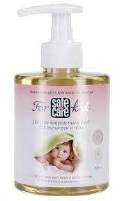 <b>Safe</b> and Care for kids Детское <b>жидкое мыло</b> 2 в 1 для мытья рук и ...