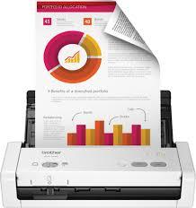 Brother <b>ADS</b>-<b>1200</b> Compact Desktop Scanner White <b>ADS</b>-<b>1200</b> ...