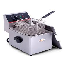 Sale +!+Hakka Commercial <b>Stainless</b> Steel 6L <b>Deep Fryers Electric</b> ...