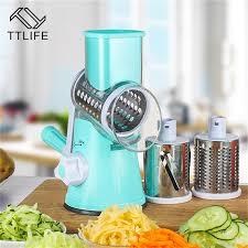 <b>TTLIFE</b> Vegetable Cutter Round Mandoline Slicer Potato Carrot ...