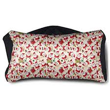 SUNNMOON Lovely Santa Claus Neck Travel Pillow ... - Amazon.com
