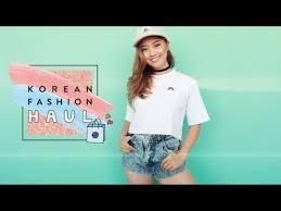 <b>Korean Fashion</b> Haul - YouTube