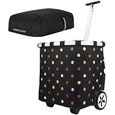 <b>reisenthel trolley m</b> einkaufstasche einkaufswagen mit rollen artist ...