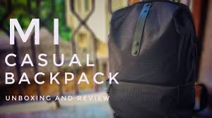 <b>Mi Casual Backpack</b> Unboxing and Review! Worth it? - YouTube