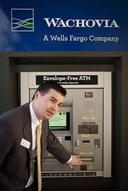 new wells fargo atms among wave of business friendly services wachovia julington creek financial center manager matthew hutchins explains features on one of several new atms