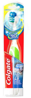 <b>Электрическая зубная щетка Colgate</b> 360° Суперчистота всей ...