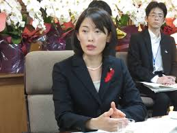 new environment chief vows to engage communities targeted for environment minister ta o marukawa speaks during an interview at the ministry in tokyo on thursday