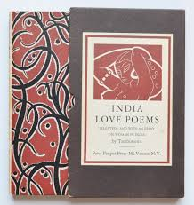 india love poems   selected and with an essay on w  in india by    india love poems   selected and   an essay on w  in india by tambimuttu