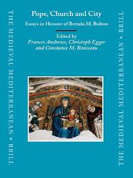pope church and city essays in honour of brenda m bolton pope church and city essays in honour of brenda m bolton medieval mediterranean