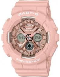 Детские <b>часы Casio</b> Baby-G <b>BA</b>-<b>130</b>-<b>4AER</b>