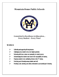 mission vision jpg after two years of research the mountain home school district adopted the career academy model at the high school level mountain home high school career