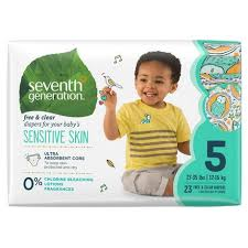 Seventh Generation <b>Free & Clear Diapers</b> | Walmart Canada