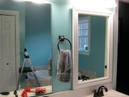 bathroom framed kerry mirror