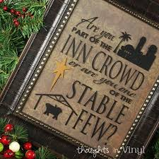 Are you part of the Inn Crowd? | Christmas crafts, Vinyl crafts, Crafts