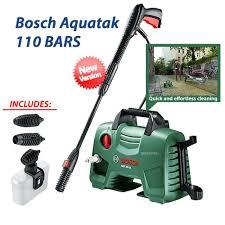 <b>Bosch</b> Easy Aquatak 110 Bars Pressure Washer & <b>Car Wash</b> Set ...